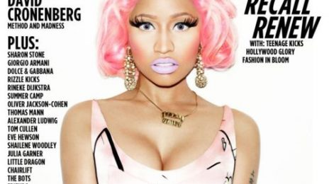 Hot Shot: Nicki Minaj Covers 'Wonderland' Magazine