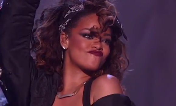 Rihanna The X Factor USA We Found Love Rihannas We Found Love Spends 10 Weeks At #1