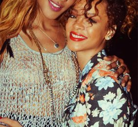 Hot Shot: Rihanna And Shontelle Party In Barbados