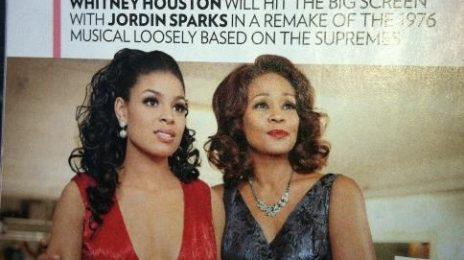 Hot Shots: Whitney Houston 'Sparkles' On Set