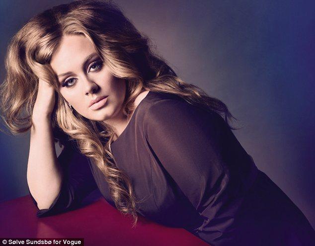 adele vogue 2 Beyonce & Adele Score Impressive NAACP Image Award Nominations