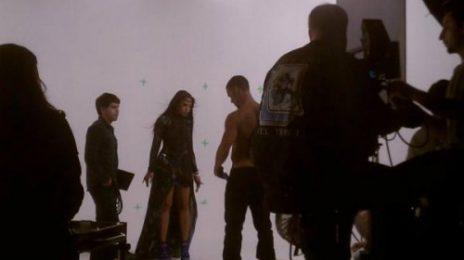 Hot Shot: Ashanti Shoots 'The Woman You Love' Video