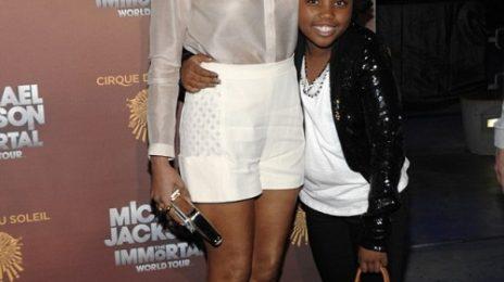 Hot Shot: Brandy & Daughter Sy'rai Shine At 'Immortal' Launch