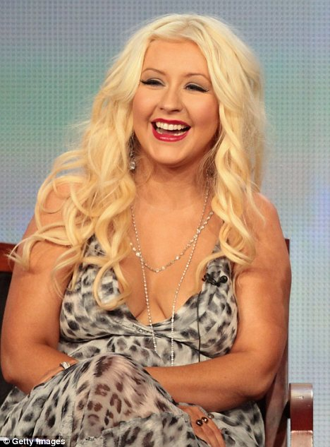 christina aguilera weight Christina Aguilera Addresses Weight Drama