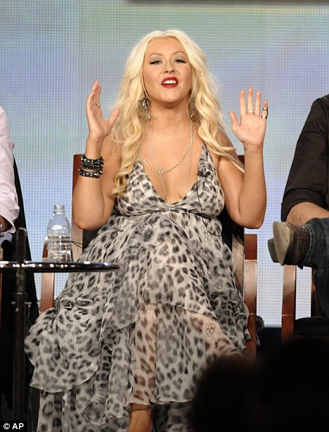 christina weight 2 Christina Aguilera Addresses Weight Drama