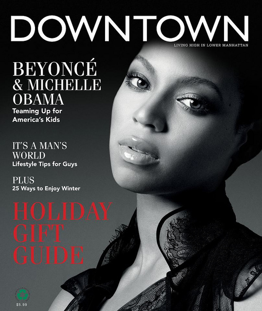 fb5c43778c872c0736103c201e788bbf1 Beyonce Beams For Downtown Magazine, Graces Glamour Paris