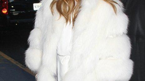 Hot Shots: Jennifer Lopez Serves Up Fur Fierce In NYC