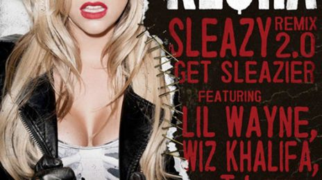 New Video: Ke$ha - 'Sleazy Remix 2.0 (ft. Andre 3000, Wiz Khalifa, T.I. & Lil Wayne)'