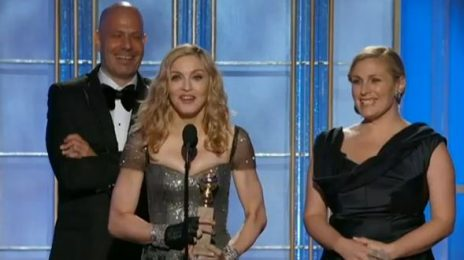 Madonna's 'Masterpiece' Bests Mary J. For 'Best Song' At Golden Globes