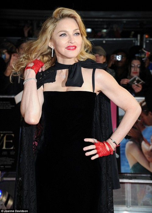 madonna 342 e1326322759594 Hot Shots: Madonna Dazzles At W.E Premiere