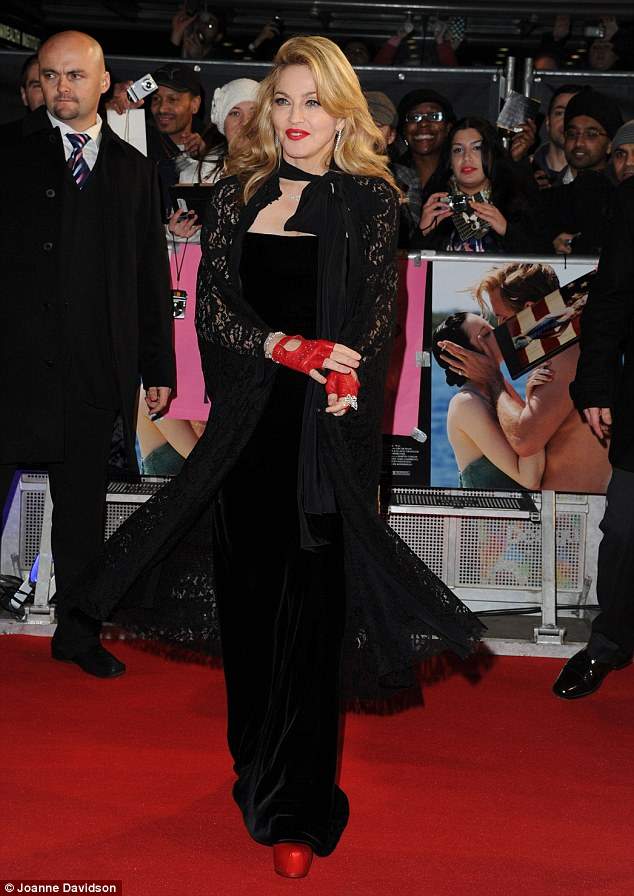 madonna fierce Hot Shots: Madonna Dazzles At W.E Premiere