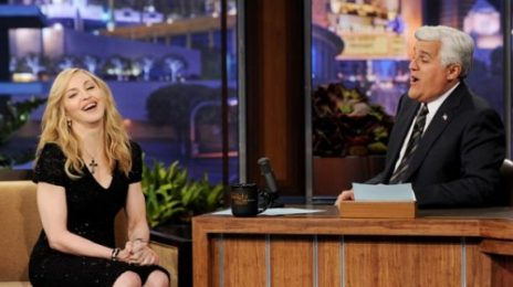 Watch: Madonna Drops By Jay Leno; Sinks Claws Into Janet Jackson