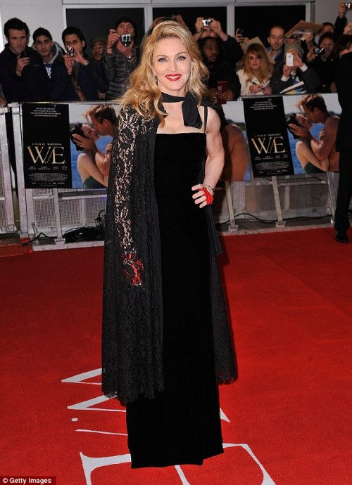 madonna main e1326322840330 Hot Shots: Madonna Dazzles At W.E Premiere