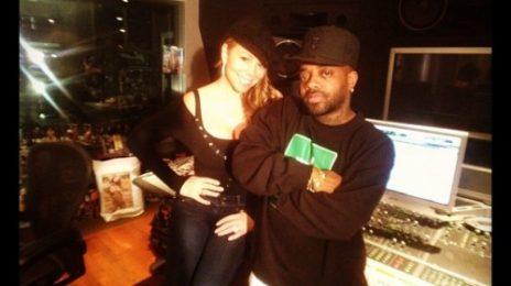 Hot Shots: Mariah Carey Hits The Studio With Jermaine Dupri
