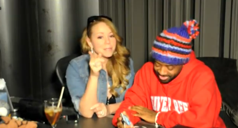 Watch: Mariah Carey & Jermaine Dupri Get To Work On New LP