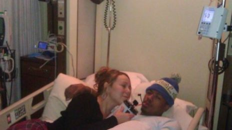 "Mariah Carey Tweets Pic Of Sick Nick Cannon / Reveals He Suffered ""Mild Kidney Failure"""