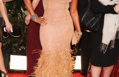 Hot Shot: Mary J. Blige Shimmers & Shines At Golden Globes 2012
