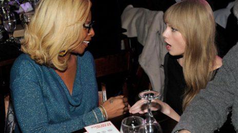 Hot Shots:  Mary Mingles With Taylor Swift At Sundance