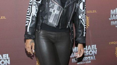 Hot Shots: Rihanna Tributes Michael Jackson At 'The Immortal'