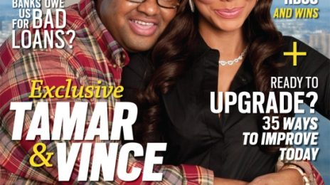 Hot Shot:  Tamar & Vince Land JET Cover