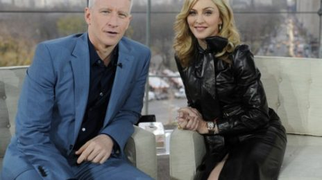 Watch:  Madonna Keeps It Cool With Anderson Cooper (Full - LQ)