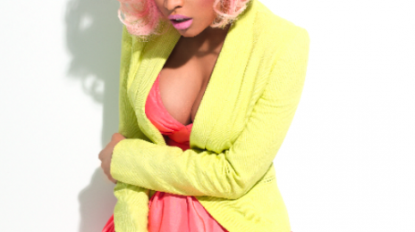Hot Shot:  Nicki Minaj Poses For 'Paper' (Sneak Peek)