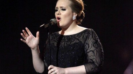 Adele Performs At BRIT Awards 2012