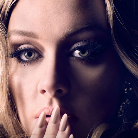 Adele Vogue TGJ21 US Charts : Adeles 21 Sells 733,000 Copies In A Week
