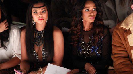 Hot Shots:  Ashanti & Michelle Make Moves At Mercedes Benz Fashion week