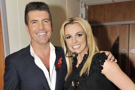 Britney Simon Britney Spears Approached By Simon Cowell To Judge The X Factor (US)