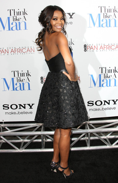 GAbrielle Union 2 Hot Shots:  The Ladies Shine At Think Like A Man Premiere