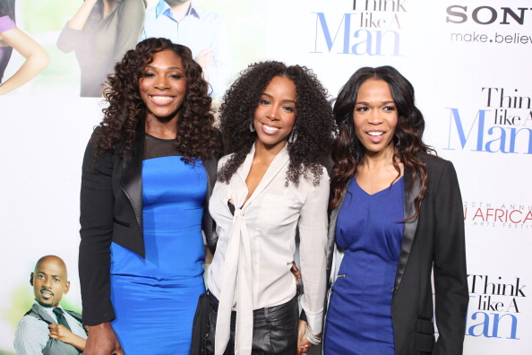 Kelly5 Hot Shots:  The Ladies Shine At Think Like A Man Premiere