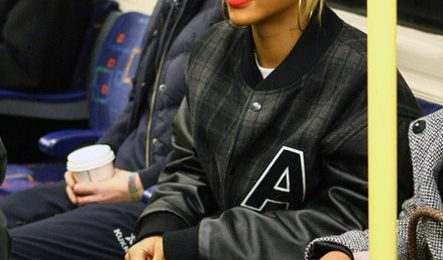 Watch : Rihanna Rocks London Subway