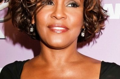 Hot Shots: Whitney Houston Turns Heads At Grammy Party