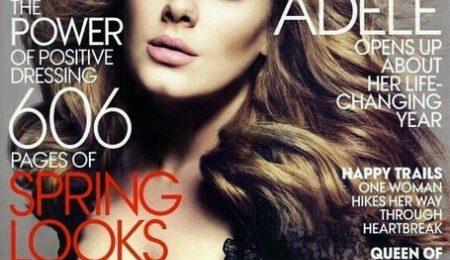 Hot Shot: Adele Ups Her Diva For 'Vogue'