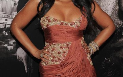 Hot Shots:  Ashanti Shines At 'Safe House' Premiere