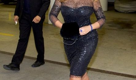 Hot Shots: Beyonce Sparkles Blue In 2nd NYC Outing
