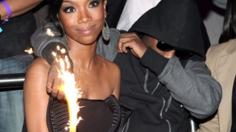 Brandy Comforts Ray J Over Whitney Houston Death (Pictures)