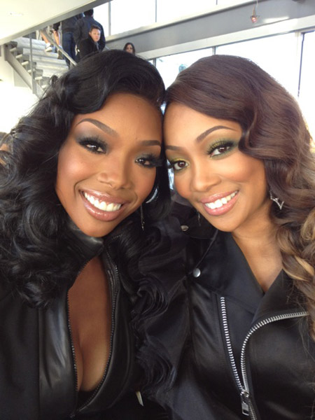 brandy monica Watch: Monica & Brandy Talk Whitney Houstons Death