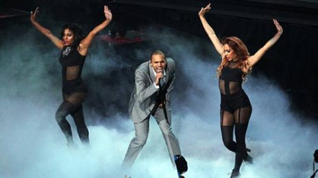 Watch: Chris Brown 'Turns Up The Music' With Explosive Performance
