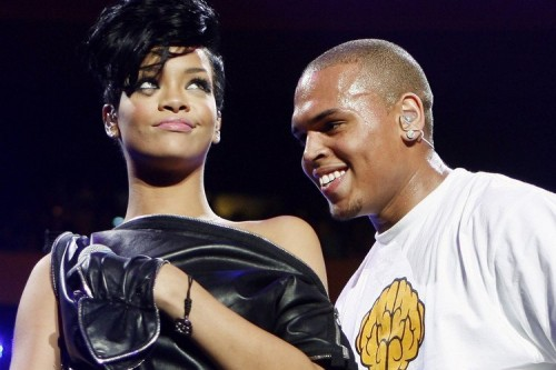 chris brown rihanna a e1330446383615 Watch: Chris Brown Sings & Dances To Rihannas We Found Love
