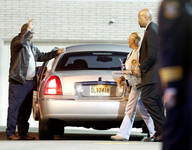 dionne 123 Friends & Family Say Goodbye To Whitney Houston At Wake