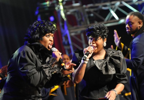 fantasia 12 e1328387065331 Watch: Fantasia Rocks Super Bowl Gospel Celebration
