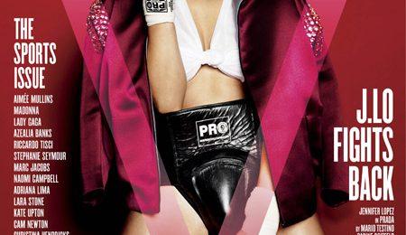Hot Shots: Jennifer Lopez's Knockout 'V' Cover