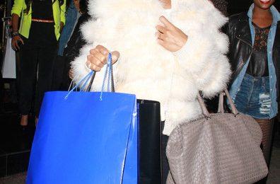 Hot Shots: Kelly Rowland Looks Fur Fierce In LA