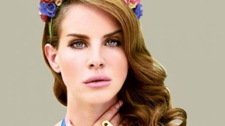 Watch: Lana Del Rey Plays 'Video Games' On Kimmel