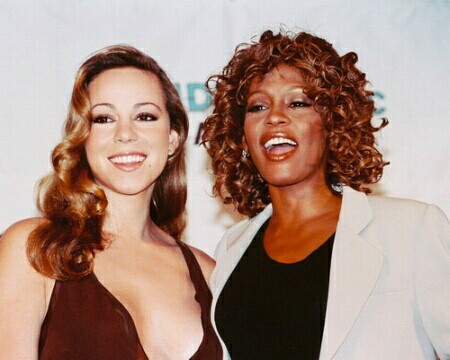 mariah carey reacts to whitney houstons death that