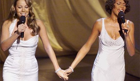 Watch: Mariah Carey Tributes Whitney Houston