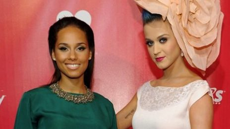 Hot Shots:  Katy Perry & Alicia Keys Cause A Stir For Musicares