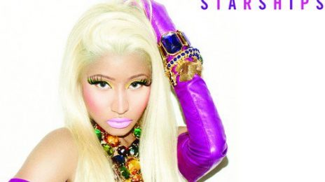Hot Shot: Nicki Minaj Reveals 'Starships' Single Cover